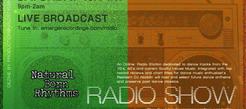 DJ Aladdin – Natural Born Rhythms Radio Show
