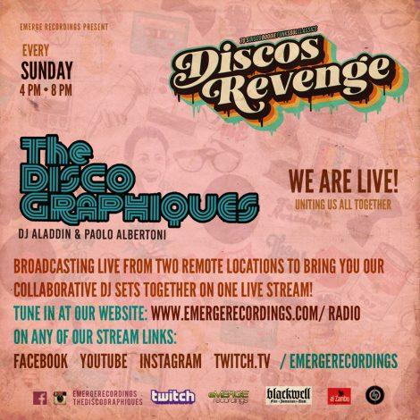 Discos Revenge Miami w/ The Discographiques – 4-26-20 PT 3