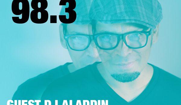 DJ Aladdin Live on CISM 89.3 FM Radio Montreal